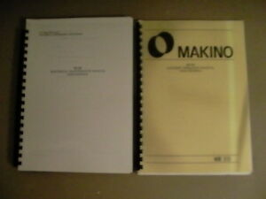Makino Ke55 Operation Electrical Maint Manual Mmo Mem ke55p00 0 2