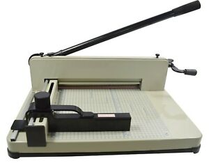 Heavy Duty All Steel 12 2in A4 Stack Paper Cutter Guillotine Trimmer 122027