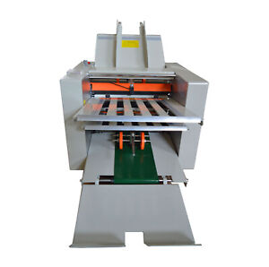 110v Speed Adjustable Folding Paper Machine Paper Folder For Manuals letters