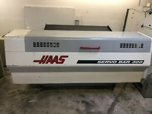 Haas Servo Bar 300 Bar Feeder 2001