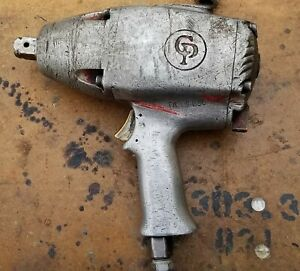 Vintage Chicago Pneumatic Impact Wrench Working Condition b6f 4