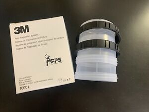 3m 16001 Pps Mixing Cups And Collars Regular 2 Per Box 3m 16001