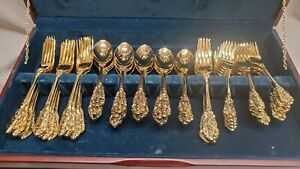 Fb Rogers 81 Pieces Grand Antique Service For 16 Near Mint