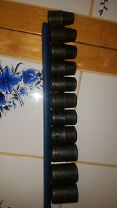 Snap On 1 2in Drive Shallow Metric Impact Socket Set 10mm To 20mm