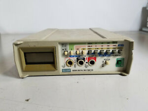 Fluke 8050a Portable Bench Digital Multimeter Used Tested Working