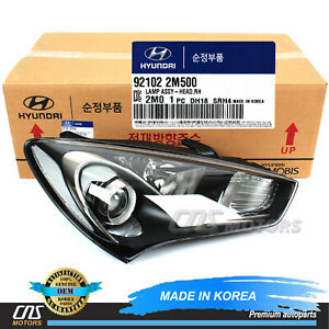 Genuine Halogen Headlight Right For 2013 2016 Hyundai Genesis Coupe 921022m500