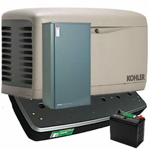 Kohler 20kw Composite Standby Generator System 200a Service Disc W Load Sh