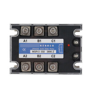 Three phase Solid State Relay For Mager Mgr 3 032 3890z Tsr 90da 380vac 3 32vdc
