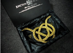 Junction Produce Gintsuna Tsuna Gold Rope Knot Jp Vip Jdm Wt New