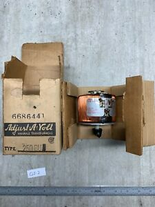 New Staco Adjust a volt 250bu Variable Transformer 120v 2 5a warranty