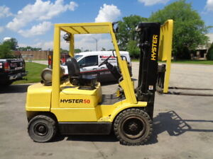 Pneumatic Forklift 2000 Hyster H50xm 5000