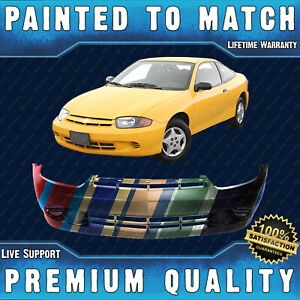 New Painted To Match Front Bumper Cover Fascia For 2003 2005 Chevy Cavalier