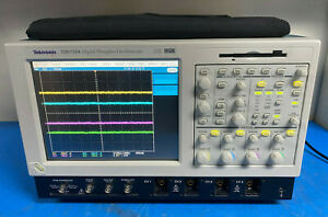 Tektronix Tds7154 Digital Phosphor Oscilloscope 4 Channel 1 5 Ghz 20 Gsa s Dpo