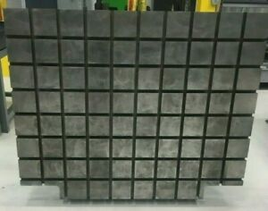suburban Cast Iron Angle Plate For Manual Or Cnc Mill 60x48 With T Slots
