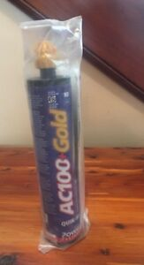 Powers Ac100 gold Acrylic Concrete Epoxy 8478sd Quik shot 10 Oz Caulk Gun