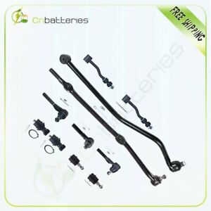 Suspension Steering 11 X Drag Link Ball Joint Sway Bars For 91 01 Jeep 4wd 2wd