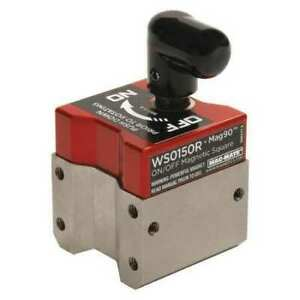 Mag mate Ws0150r Magnetic Weld Square 1 1 2x1 1 8in 150lb