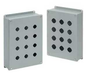 Hoffman E1pb Pushbutton Enclosure 3 25 In W steel