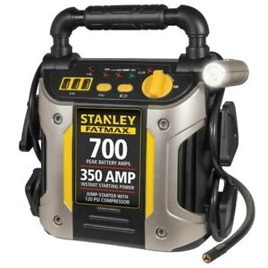 Stanley Battery Jump Starter Air Compressor Peak Portable Car Charger Booster