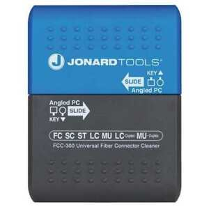Jonard Tools Fcc 300 Connector Cleaner optical Fiber Cleaning
