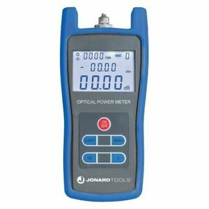 Jonard Tools Fpm 50 Fiber Optic Power Meter lcd Display