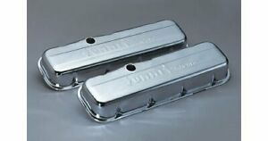 Summit Racing Chrome Valve Covers G3316 Chevy Bbc 396 427 454