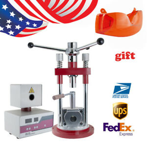 Dental Flexible Denture Injection System Machine Heater Press Dentures Equipment