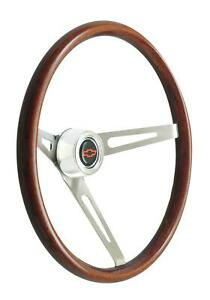Gt Performance Gt 3 Retro Gm Wood Steering Wheel 36 5459