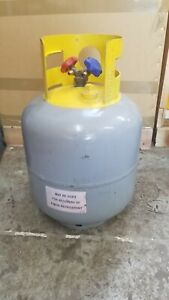 Refrigerant Recovery Reclaim Cylinder Tank 50lb Pound 400 Psi Used Empty