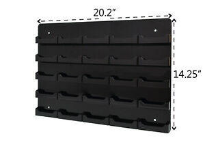 Business Gift Card 25 Pocket Display Wall Mount