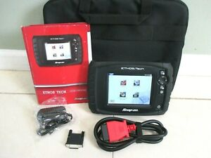 Snapon Ethos Tech Diagnostic Scanner Full Function Bi Directional Controls