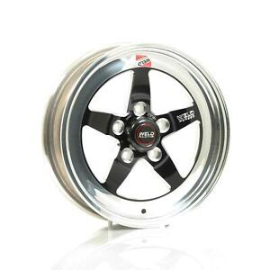 Weld Racing Rts Forged Aluminum Black Anodized Wheel 15 X3 95 5x4 5 Bc Pair