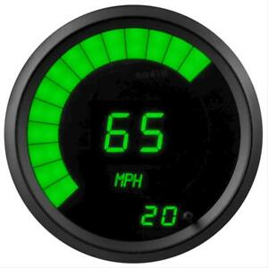 Summit Racing G2981 2g Speedometer Led 0 255 Mph 3 3 8in Digital Electrical Each