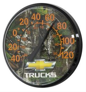 Chevy Realtree Camouflage Wall Thermometer Nc447