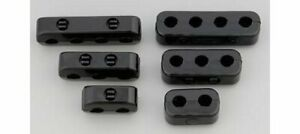Made For You Prod Ignition Wire Looms Separator Butn Snap Nylon Black 7 8mm Univ