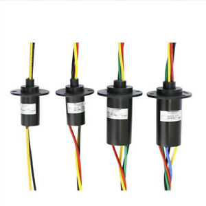 High Current Conductive Slip Ring Electric Rotary Joint 2 12 Wires 2a 60a