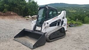 2014 Bobcat T590 Track Skid Steer Enclosed Cab Low Hours Ready To Work Finance