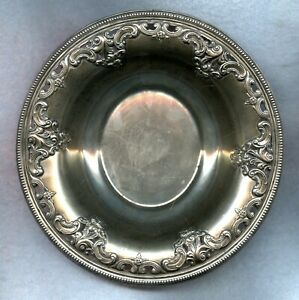 Vintage Wallace Grand Baroque Sterling Bowl Dish