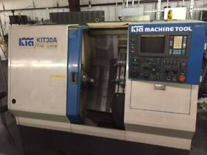 Used Kia Cnc Lathe Kit30a