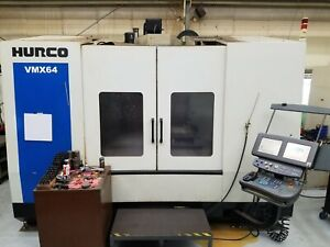 2008 Hurco Vmx 64 50 Cnc Machining Center Vmc W 8 000 Rpm Cat 50 Coolant Thru