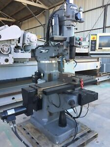 Bridgeport Mdl V2xt 3 axis Cnc Vertical Milling Machine