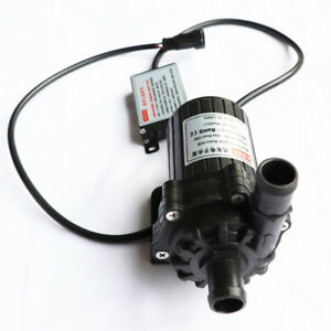 45l min Water Pump Ultra Quiet Brushless Submersible For Car Circulation Es