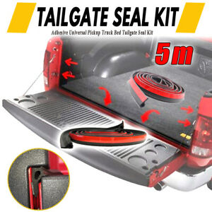 Universal Truck Bed Tailgate Rubber Seal 16 4ft Tape Pickup For Holden Nissan