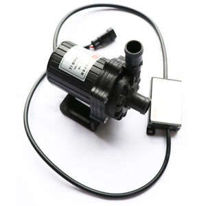 45l min Water Pump Ultra Quiet Brushless Submersible For Car Circulation De