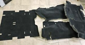 2003 2006 Jeep Wrangler Tj Black Carpet Sections Oem Mopar Incomplete Set