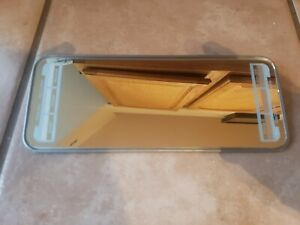 1940 S 1950 S Nos Sun Visor Clip On Vanity Mirror With Service Travel Record