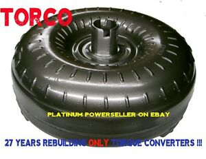 Th350c 350c Lockup 2200 2600 Stall Torque Converter With 2 Year Warranty