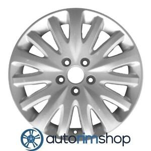 New 17 Replacement Rim For Ford Mercury Fusion Milan 2010 2011 2012 Wheel Silve