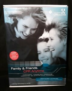 Family Friends Cpr Anytime With Dvd And Manikin