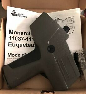 Avery Dennison Monarch 1110 Price Tag Gun Label Pricing Gun New Open Box
